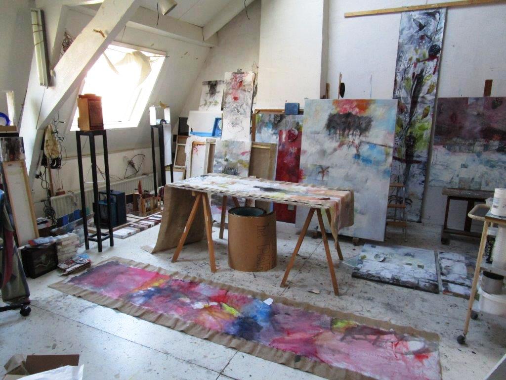 Atelier Op Zolder.Atelier Van Ton Ton Vroman